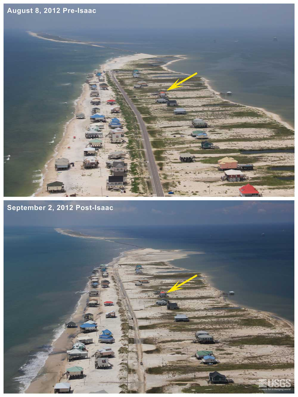 Pre And Post Storm Photo Comparisons Hurricane Isaac